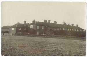 Unidentified Early 20th c Terraced Houses RP PC Unposted, Location Unknown