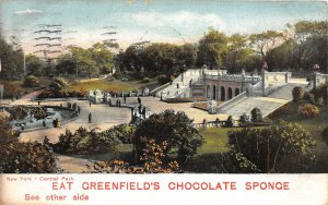 H23/ Advertising Postcard c1910 Greenfield's Chocolate Candy New York 22