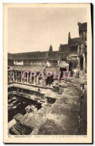 Postcard Ancient Angkor Wat Baasin South East