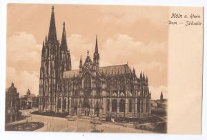 Koln Cathedral a Rhein Southside Cologne Th Creifelds c1905