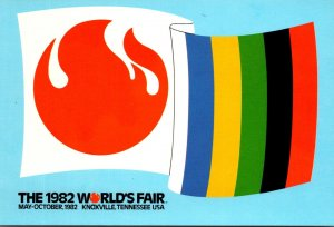 Tennessee Knoxville 1982 World's Fair Flags