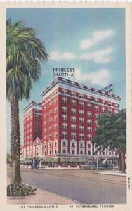 Florida St Petersburg The Princess Martha Hotel Curteich