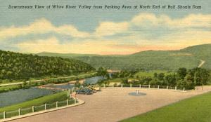 AR - White River Valley from North End of Bull Shoals Dam