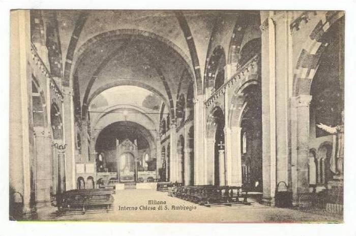 MILANO, Interno Chiesa di S. Ambrogio, Interior, Church, Italy, 00-10s