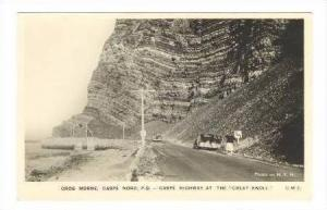 RP Gros Morne. Caspe Nord, P.Q.,Gaspe highway at the Great Knoll, 1950s