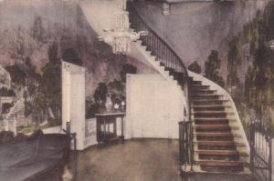Tennessee Nashville Hall and Stairway Interior The Hermitage Home Of General ...