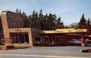 Crescent City California~Pacific Motor Hotel~Highway 101 Neon Sign 1950s