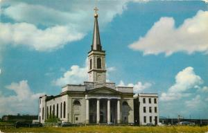 St Louis Missouri~The Old Cathedral of Saint Louis of France 1961 PC