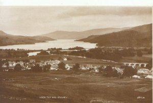 Scotland Postcard - Loch Tay and Killin - Perthshire - Ref TZ3806