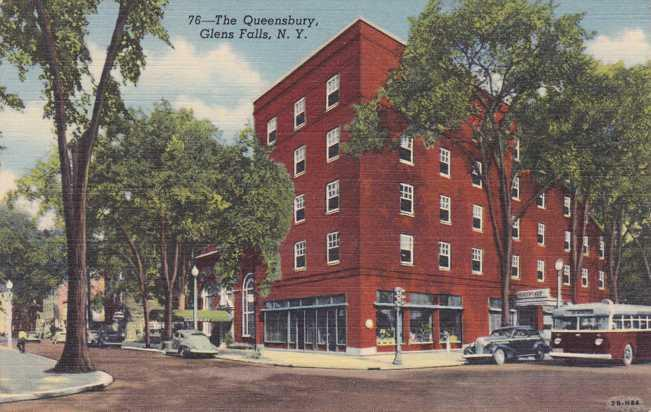 The Queensbury Hotel Glens Falls Ny New York Linen