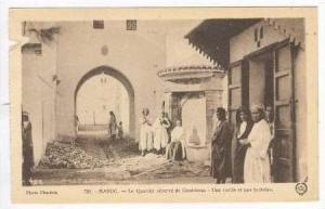 MAROC,-Le Quartier reserve de Casablanca