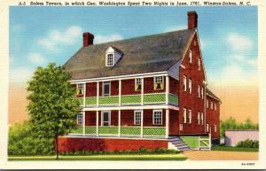 North Carolina Winston Salem The Salem Tavern Curteich