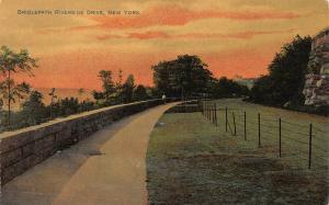 Bridlepath, Riverside Drive, New York, N.Y.,  Early Postcard, Unused