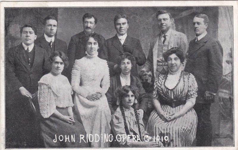 John Ridding Opera Co. , PU-1910 ; Godrergraig , UK