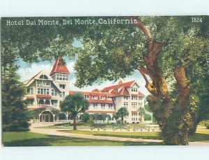 Divided-Back HOTEL SCENE Del Monte In Monterey - Near Salinas CA H0387