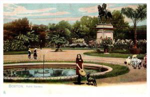 Massachusetts  Boston   Public Gardens  Tuck's no.  1069