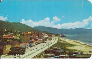 Puerto Vallarta Mexico -  early view showing the Malecon 1950s