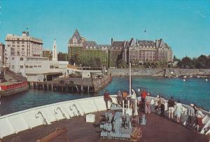 Scenic view,  Victoria Harbor,  MV Coho,  Victoria,  B.C.,  Canada,   40-60s