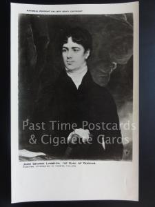 JOHN GEORGE LAMBERT from original painting National Portrait Gallery No.2547
