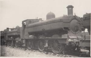 GWR Class 0-6-0 T No 1779 1947 Train Real Photo Old Postcard
