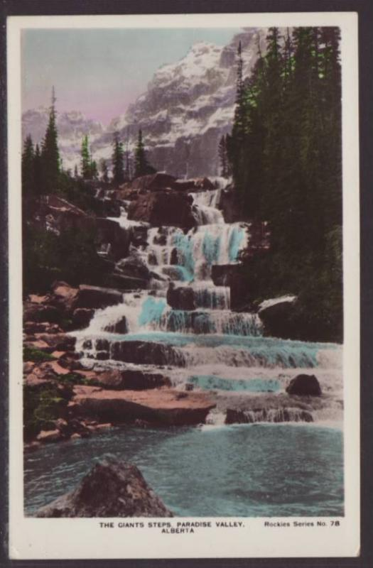 Giant's Steps,Paradise Valley,Alberta,Canada Postcard