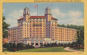 New Arlington Hotel Hot Springs National Park Arkansas