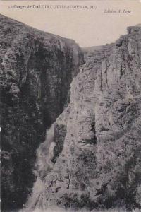 Gorges De Daluis A Guillauimes (Alpes Maritimes), France, 1900-1910s