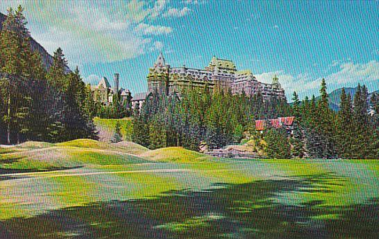 Canada Alberta Banff First Tee and Golf Club House