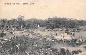 Argentina Buenos Aires Palermo el corso 1912 PPC