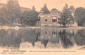 Jardin Zoologique, Batiment des Hippopotames et grand bassin des Aquatiques A...