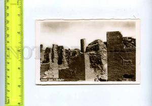 204386 IRAQ BAGHDAD Babylon Ishtar Gate old photo postcard