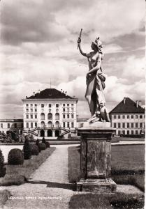 Munchen, Schloss Nymphenburg 1959