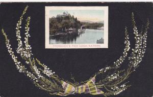 Trossach's Pier, Loch Katrine, Stirlingshire, Scotland, United Kingdom, PU-1906