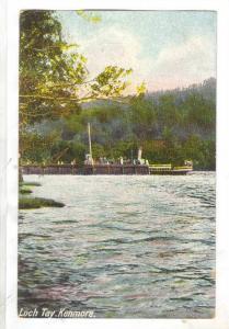 Loch Tay. Kenmore, Scotland, 00-10s Steamship at pier