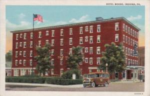 Peennsylvania Indiana Hotel Moore Curteich