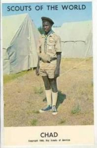 Boy Scouts of the World, CHAD SCOUTS, 1968