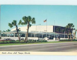 Unused Pre-1980 CONVENTION CENTER Tampa Florida FL F9909