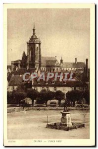 Old Postcard Colmar Place Rapp