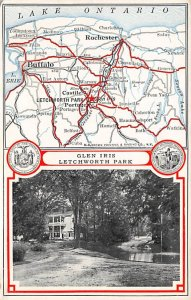 Maps Glen Iris Letchworth Park New York, USA Unused