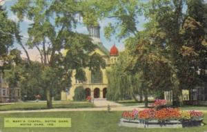 Indiana South Bend St Mary's Chapel University Of Notre Dame