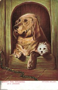 Dignity and Impudence Sir E Landseer Two Dogs 03.66
