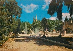 Syria Damascus museum garden