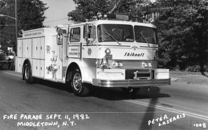 Fire Parade Sept 11, 1982 in Middletown, New York