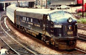 Trains Chicago & Eastern Illinois FP7 Locomotive #1608