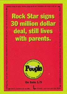 Advertising Teen People Magazine Tower Records
