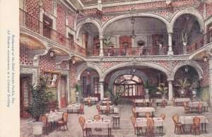 Mexico Puebla Restaurant Of Hotel Arronte Puebla sk3340