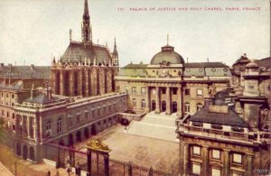 PARIS PALACE OF JUSTICE AND HOLY CHAPEL