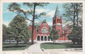 SPARTANBURG, South Carolina; First Presbyterian Church, 10-20s