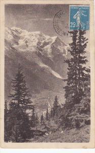 France Chamonix et le Mont Blanc vus de la Flegere