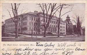 Massachusetts Springfield The High School 1907